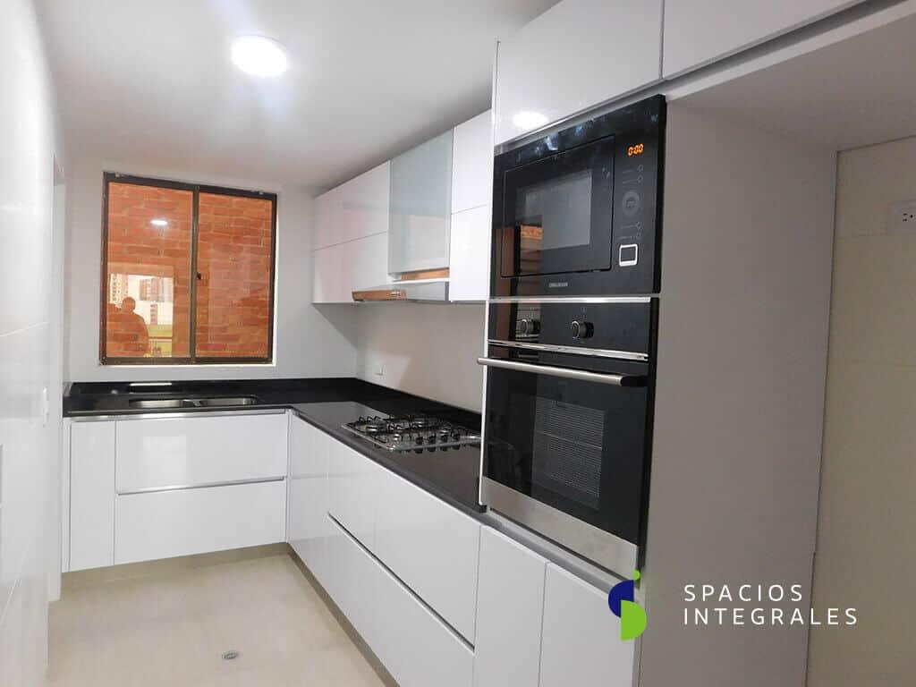 L nea poliuretano cocinas integrales en poliuretano con - Exposicion de cocinas modernas ...