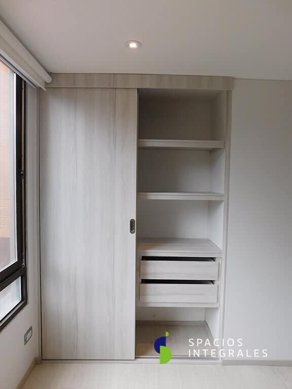 Closets Modernos En Madera Y Material Melam 237 Nico En Bogot 225