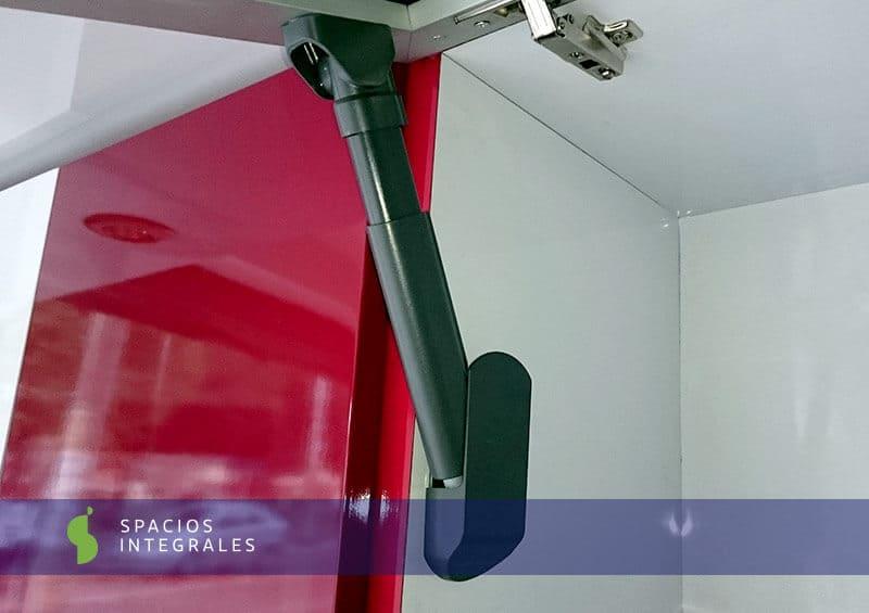 Brazo neolift samet de dise o moderno y funcional for Herrajes para cocinas integrales en bogota