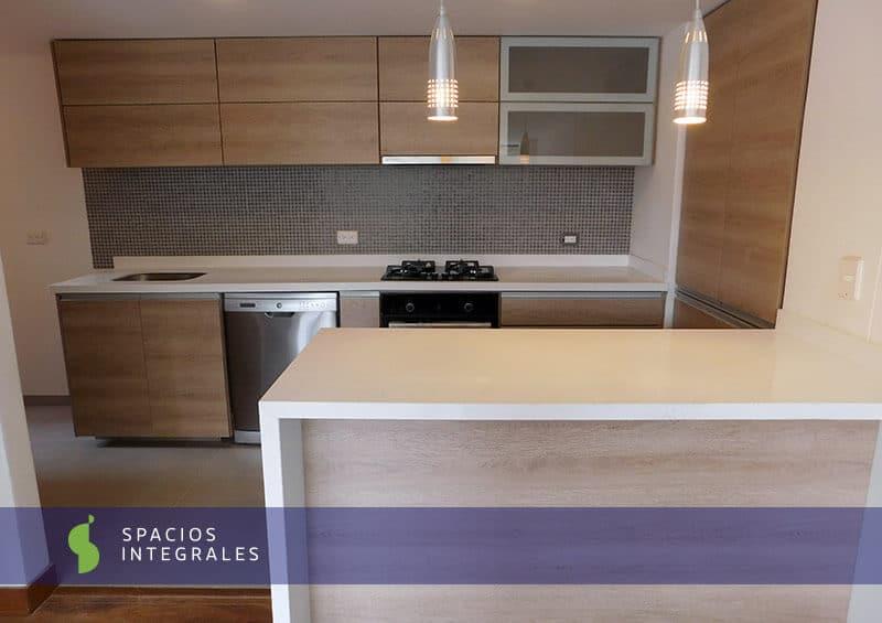 Tocador minimalista for Acabados cocinas modernas