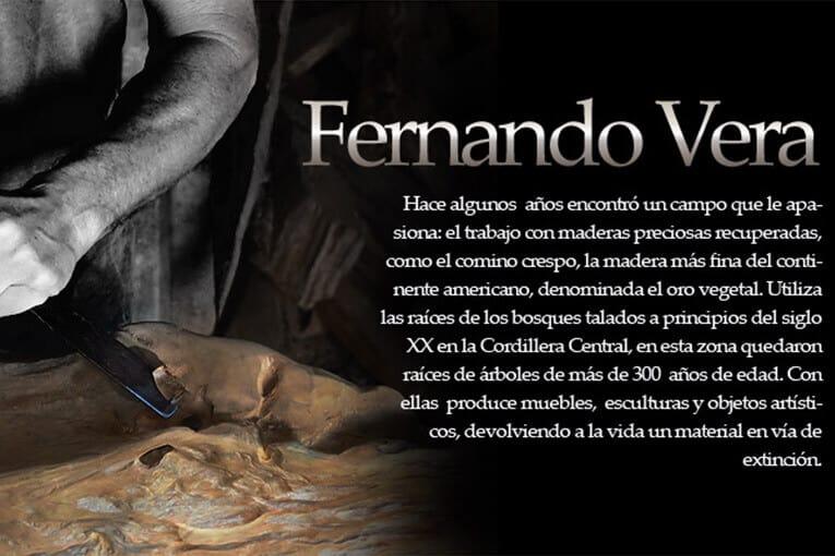 Fernando Vera en concurso Internacional de escultura de Madera