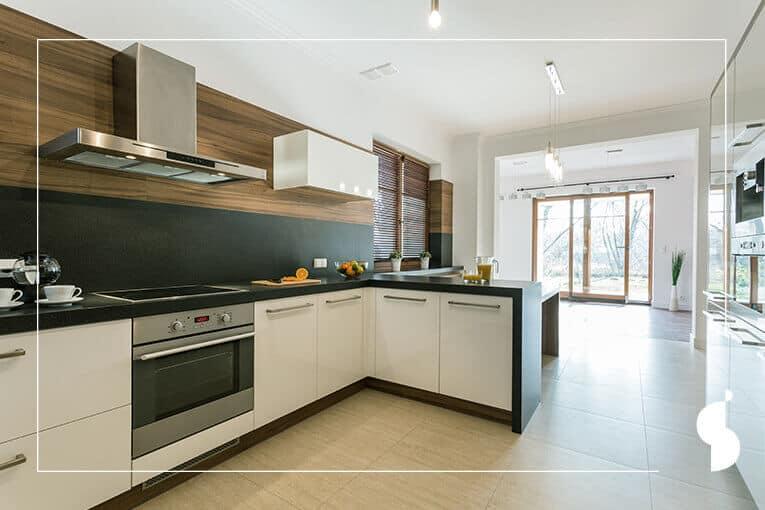 ¿Cómo hacer que tu cocina integral se vea más grande?