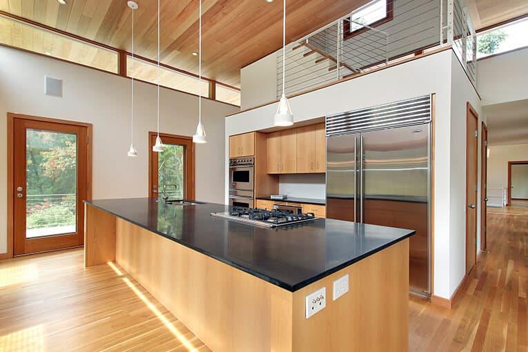 Las cocinas tipo isla dan una mejor estética a tu espacio