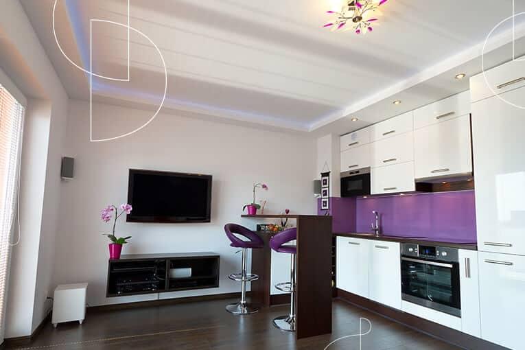 ⚡ ¿Qué muebles de cocina necesitas para decorar un apartamento pequeño?