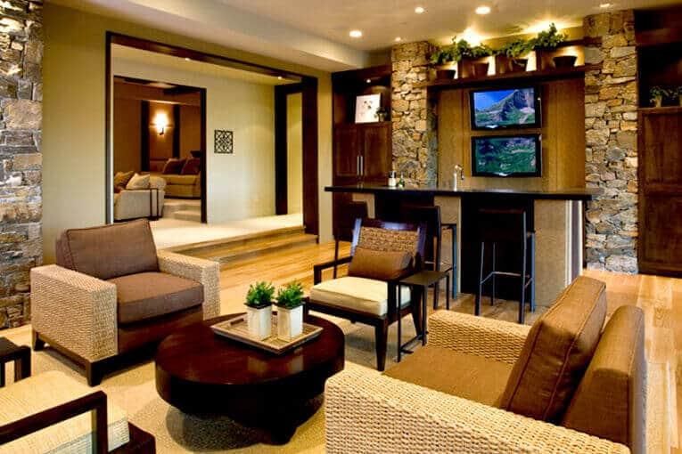 Muebles de mimbre, sostenibilidad en la decoración de interiores - Spacios Integrales