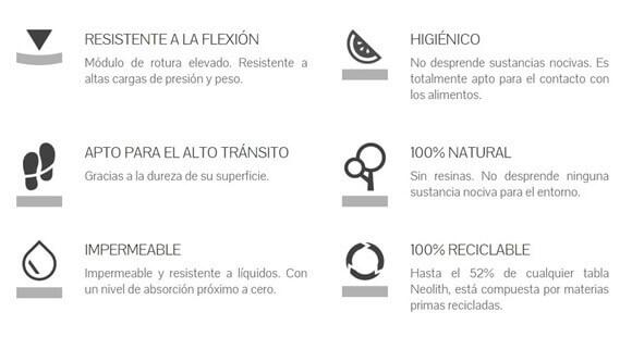 Propiedades Neolith 02 - Producto Spacios Integrales, Bogotá