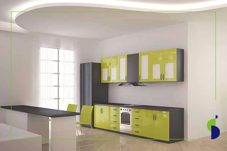 ✅ ¿Qué es la regla 60-30-10 y por qué usarla para decorar cocinas integrales?