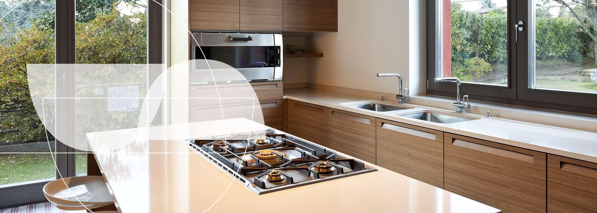 Cocinas integrales modernas con Silestone