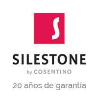 Logo Silestone 20 años de garantía